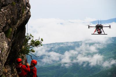 Onyxstar Drone Uav Uas Mountain Montagne Sar Search Rescue